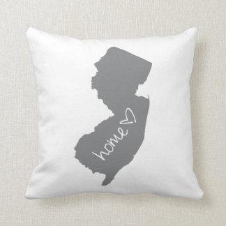 Zuhause <3 New-Jersey Kissen