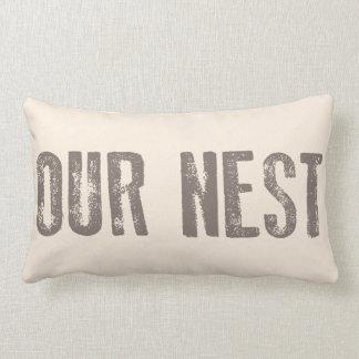 Zuhause-AkzentLumbar Pillows unseren NestVintagen Lendenkissen