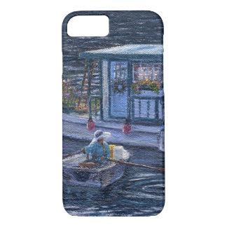 """""""Zuhause auf dem Wasser"""" Telefon-Kasten iPhone 8/7 Hülle"""