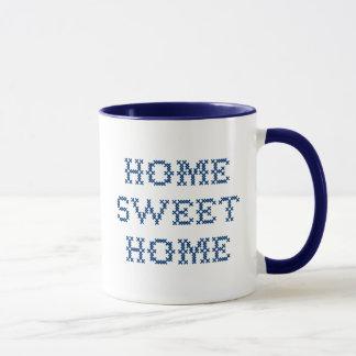 Zuhause-Bonbon-Zuhause Tasse