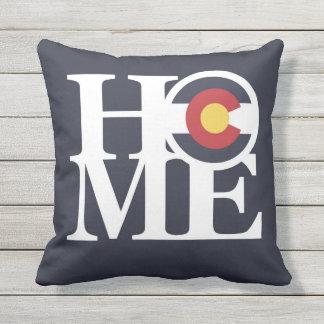 ZUHAUSE Colorado throw-Kissen-Indigo-Blau IM Kissen Für Draußen