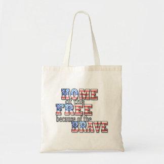 Zuhause der freien Taschen-Tasche Tragetasche