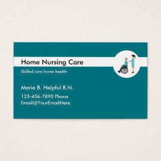 Zuhause-Gesundheits-Krankenpflege Visitenkarte