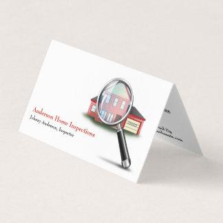 Zuhause-Inspektions-Inspektor-Geschäfts-Karte Karte
