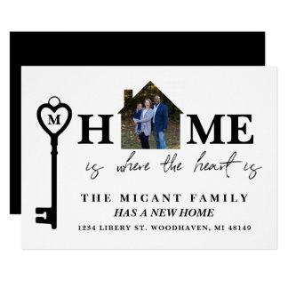 Zuhause ist, wo das Herz ist, neue Karte