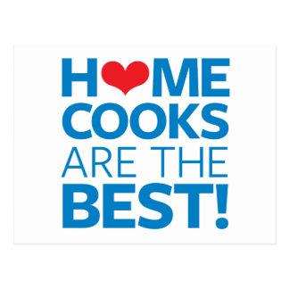 Zuhause-Köche sind das Beste Postkarte