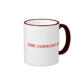 Zuhause-Kommandant Ringer Tasse
