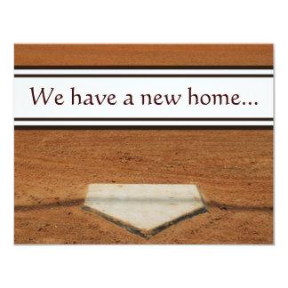 Zuhause-Platte haben wir Adressen-Kontakt-Karten 10,8 X 14 Cm Einladungskarte