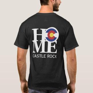 ZUHAUSE Schloss-Felsendunkelheitst-stück T-Shirt