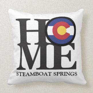 ZUHAUSE Steamboat Springs Colorado Kissen
