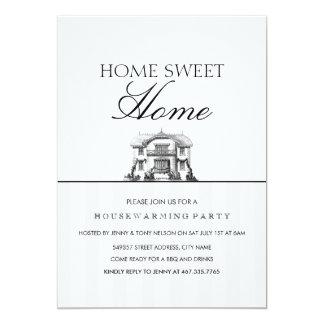 Zuhause-süße Zuhausehousewarming-Party Einladung