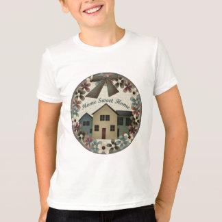 Zuhause-süßes Zuhause scherzt T-Shirts und scherzt