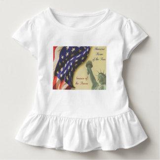 Zuhause vom freien kleinkind t-shirt