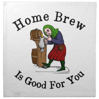 ZuhauseBrew ist für Sie gut Stoffserviette