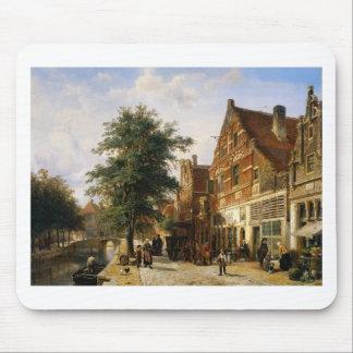 Zuiderhavendijk, Enkhuizen durch Cornelis-Springer Mousepad