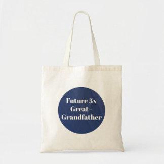 Zukunft5x große - Großvater - Tragetasche