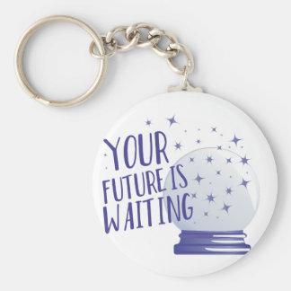 Zukunft ist wartete schlüsselanhänger