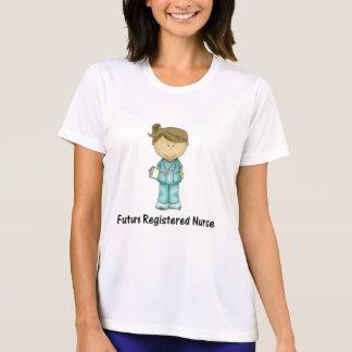 zukünftige ausgebildete Krankenschwester T-Shirt