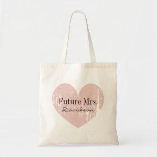 Zukünftige Frau BrautTaschentasche, damit die Budget Stoffbeutel