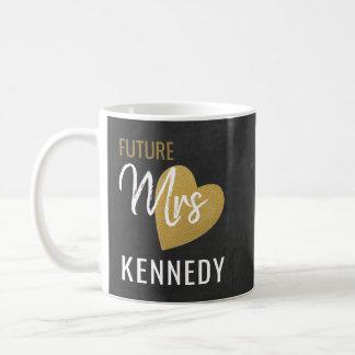 Zukünftige Frau Chalkboard Kaffeetasse