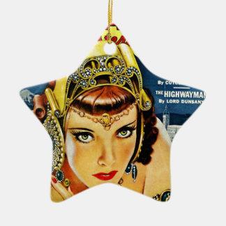 Zukünftige Inkaprinzessin Keramik Ornament