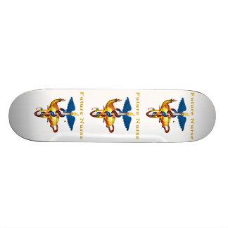 Zukünftige Krankenschwester Bedrucktes Skateboard