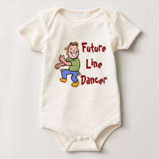 Zukünftige Linie Tänzer! - Baby Baby Strampler