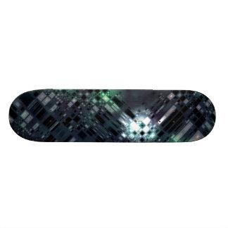 Zukünftige Metropole Skateboarddeck