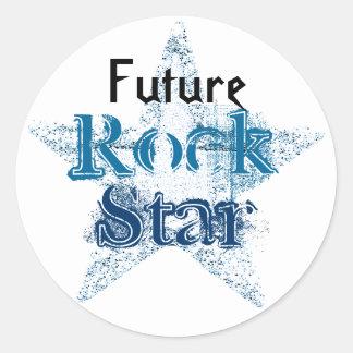 Zukünftige Rockstaraufkleber