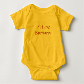 Zukünftige Samurais Baby Strampler
