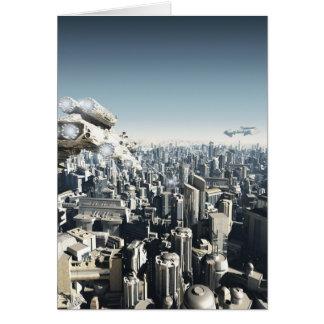 Zukünftige Stadt unter Angriff Karte