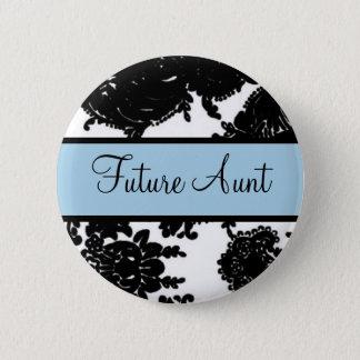 Zukünftige Tante Runder Button 5,1 Cm