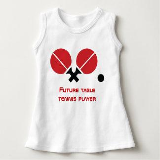 Zukünftige Tischtennis Klingeln-pong Kleid