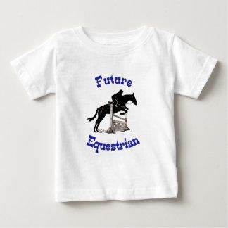 Zukünftigen Reiterkindes Baby T-shirt
