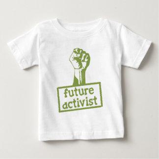 Zukünftiger Aktivist Baby T-shirt