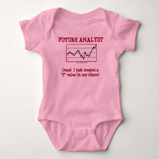 Zukünftiger Analytiker Baby Strampler