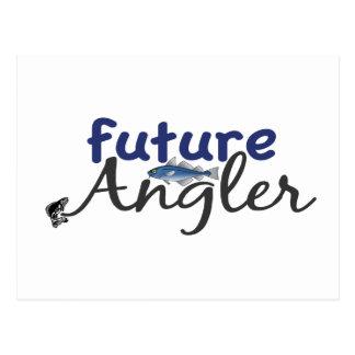 Zukünftiger Angler (Fischen) Postkarte