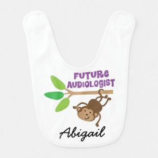 Zukünftiger Audiologe-personalisierter Babylätzchen
