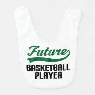 Zukünftiger Basketball-Spieler-Baby-Schellfisch Lätzchen