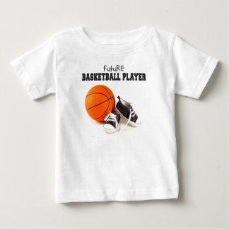 Zukünftiger Basketball-Spieler Baby T-shirt