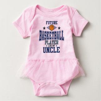Zukünftiger Basketball-Spieler mögen meinen Onkel Baby Strampler