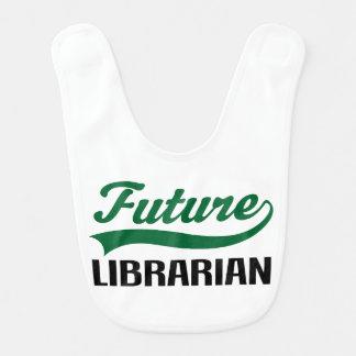Zukünftiger Bibliothekar-Baby-Schellfisch Babylätzchen