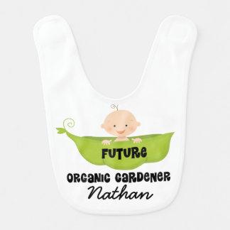 Zukünftiger Bio Gärtner-personalisierter Lätzchen