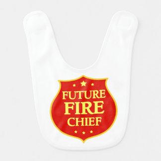 Zukünftiger Brandmeister Baby-Schellfisch- Babylätzchen