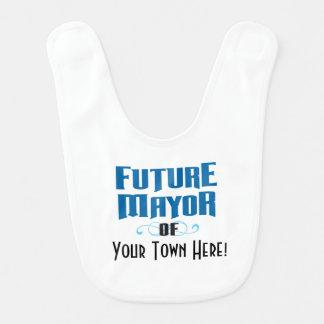 Zukünftiger Bürgermeister des Schellfisches Ihres Lätzchen
