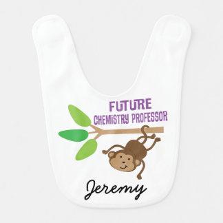 Zukünftiger Chemie-Professor Personalized Baby Bib Lätzchen