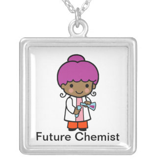 Zukünftiger Chemiker Versilberte Kette