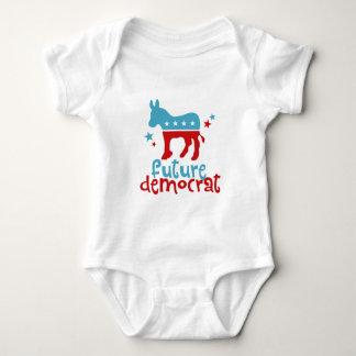Zukünftiger Demokrat Baby Strampler
