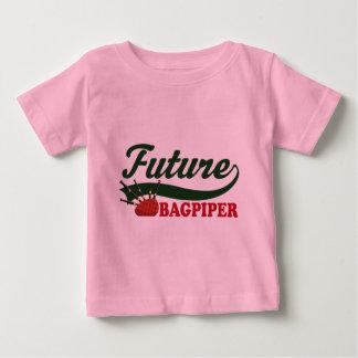 Zukünftiger Dudelsackspieler Baby T-shirt
