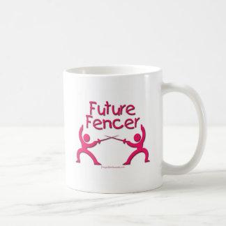 Zukünftiger Fechter (Rosa) Kaffeetasse